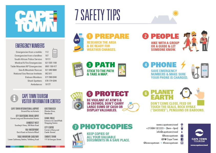7 Safety Tips when visiting Cape Town_low res