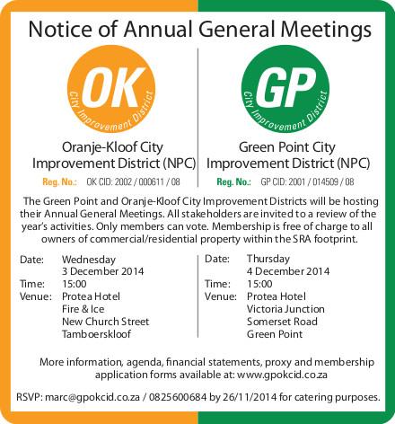 GP/OKCID Annual General Meeting