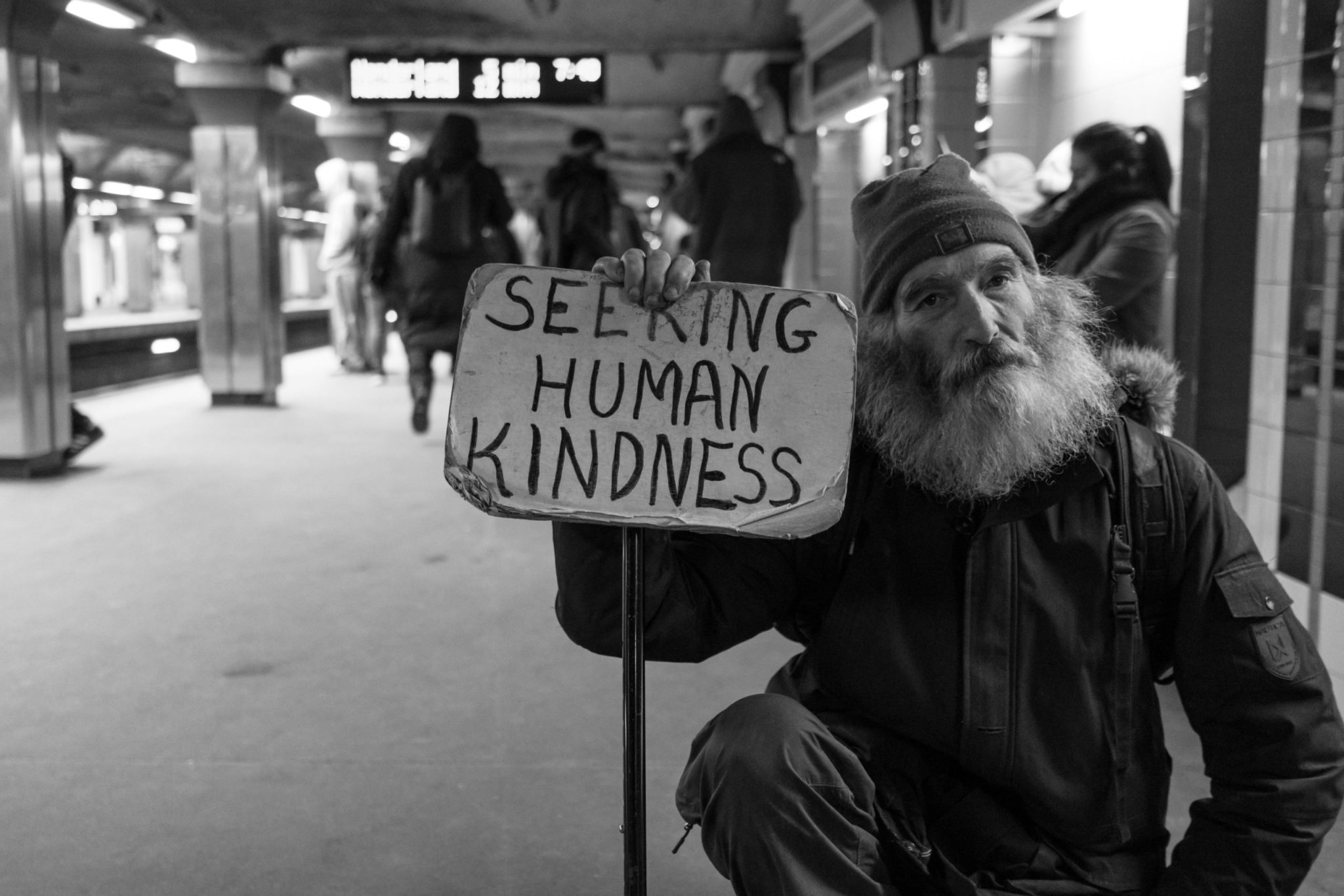 We cannot wish homelessness away